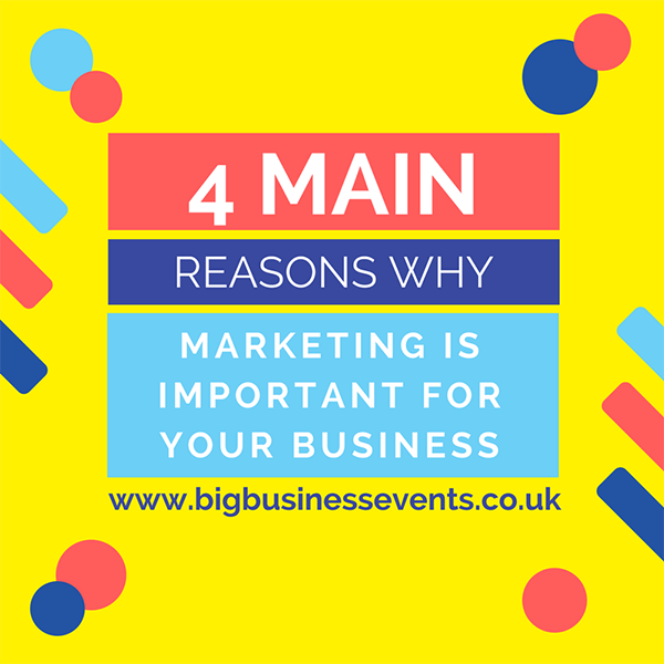 4 reasons why marketing is important for your business