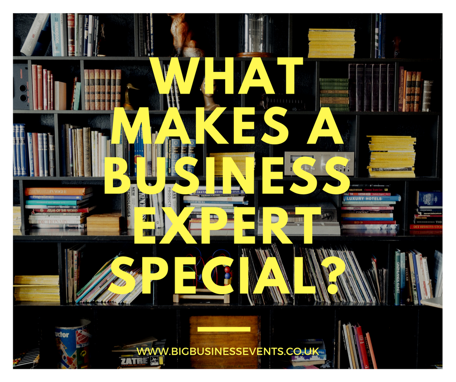 What makes a business expert special?
