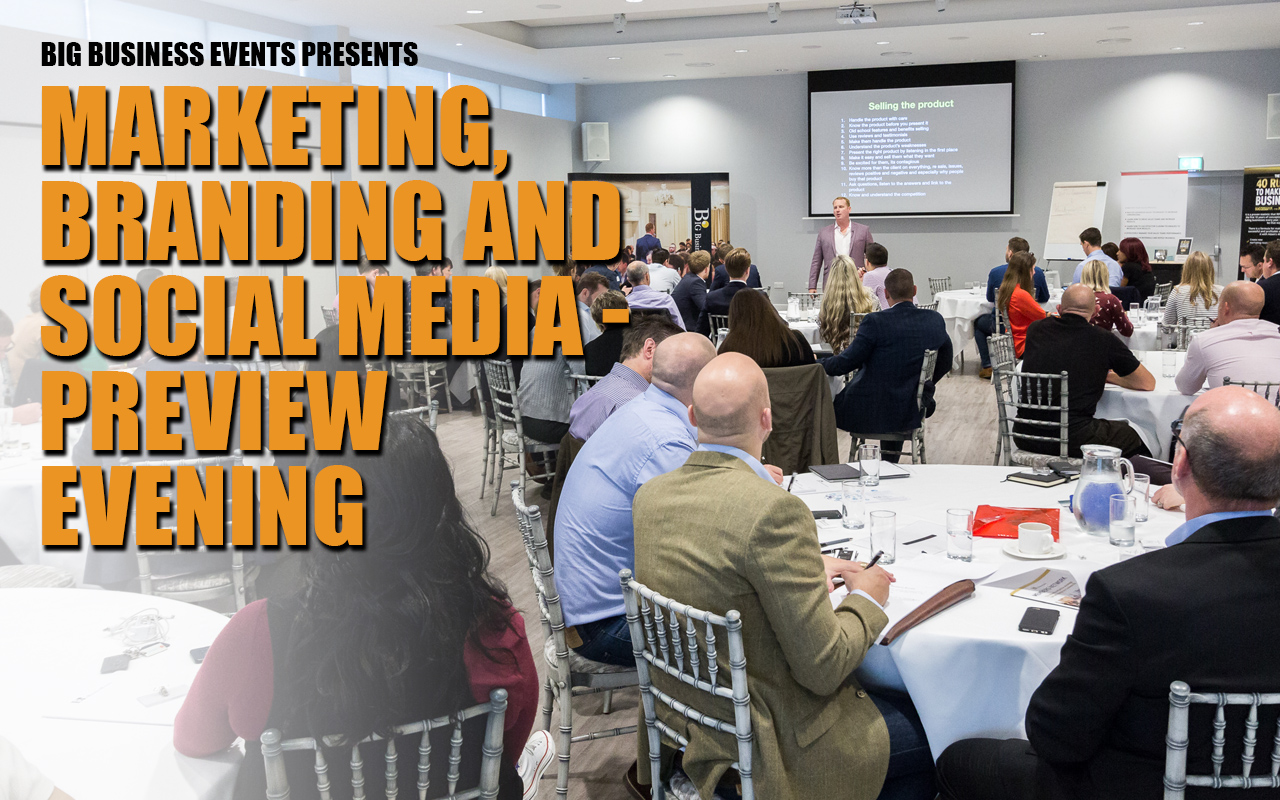 Marketing, Branding and Social Media Free Evening