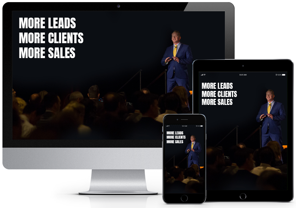 More Leads, More Clients, More Sales